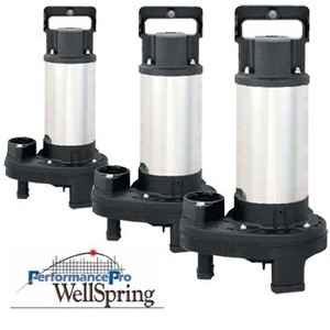 WellSpring Submersible Pond Pumps