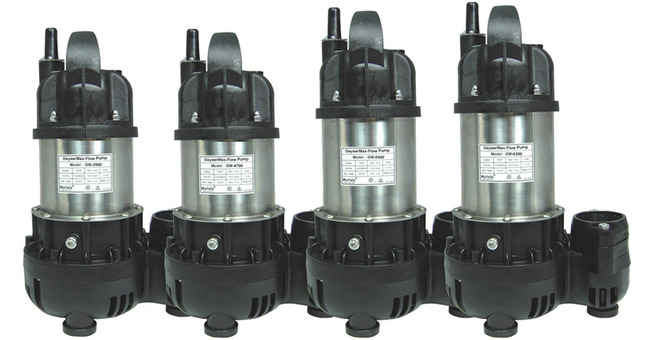 GeyserMax Flow 4700 gph Submersible Pond Pump