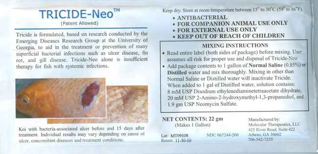 Tricide Neo Ulcer Disease Treatment 22gr