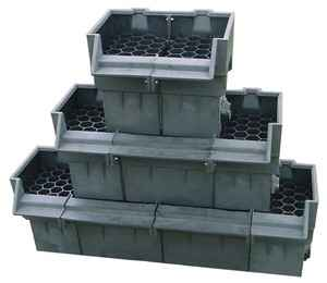 """EasyPro 34"""" Straight Expandable Waterfall Spillway"""