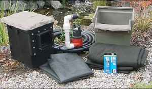 EasyPro Pro-Series Mini Pond Kit - Complete for 6' X 6' Pond