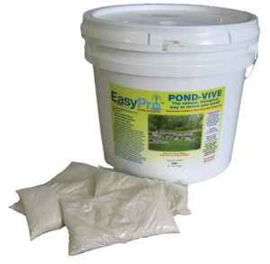 Water Soluble Bags Pond-Vive Bacteria 10 lb Pail with 20 pc - 8 oz
