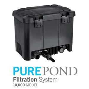 Pure Pond 10,000 Filtration System w/ UV and Pump