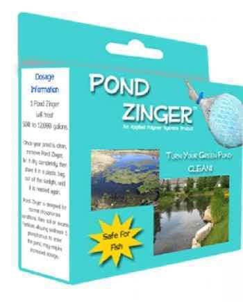 Pond Zinger Water Clarifier (Turn Your Green Pond Clean)
