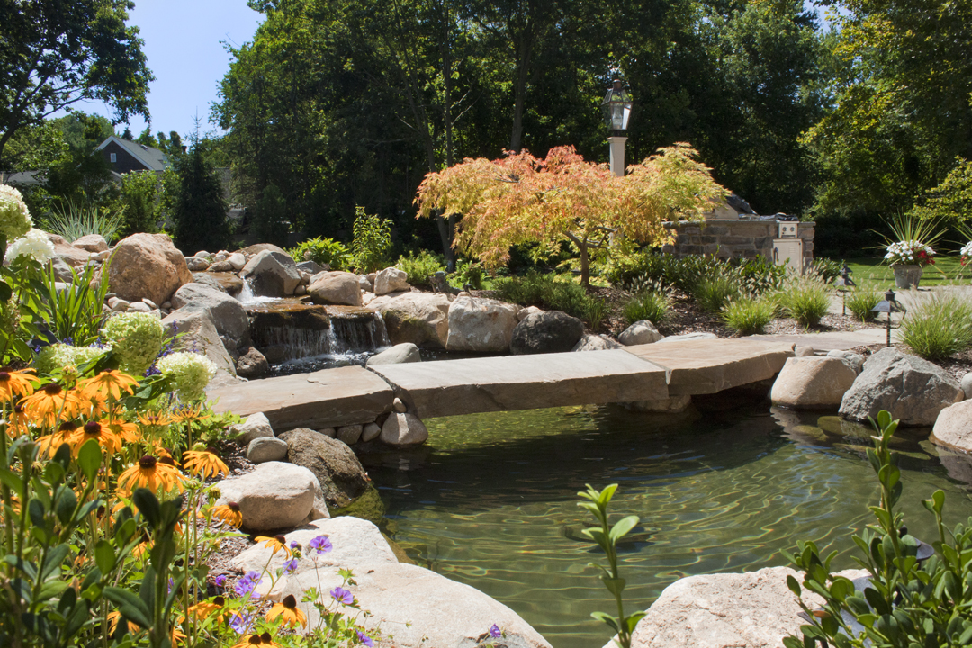 Koi pond construction for Koi pond volume calculator