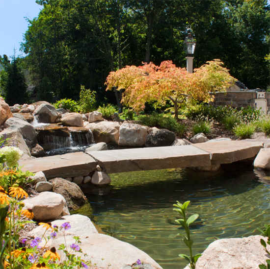 Koi pond construction for Pond building supplies